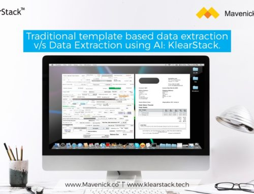 Traditional template based data extraction v/s Data Extraction using AI: KlearStack