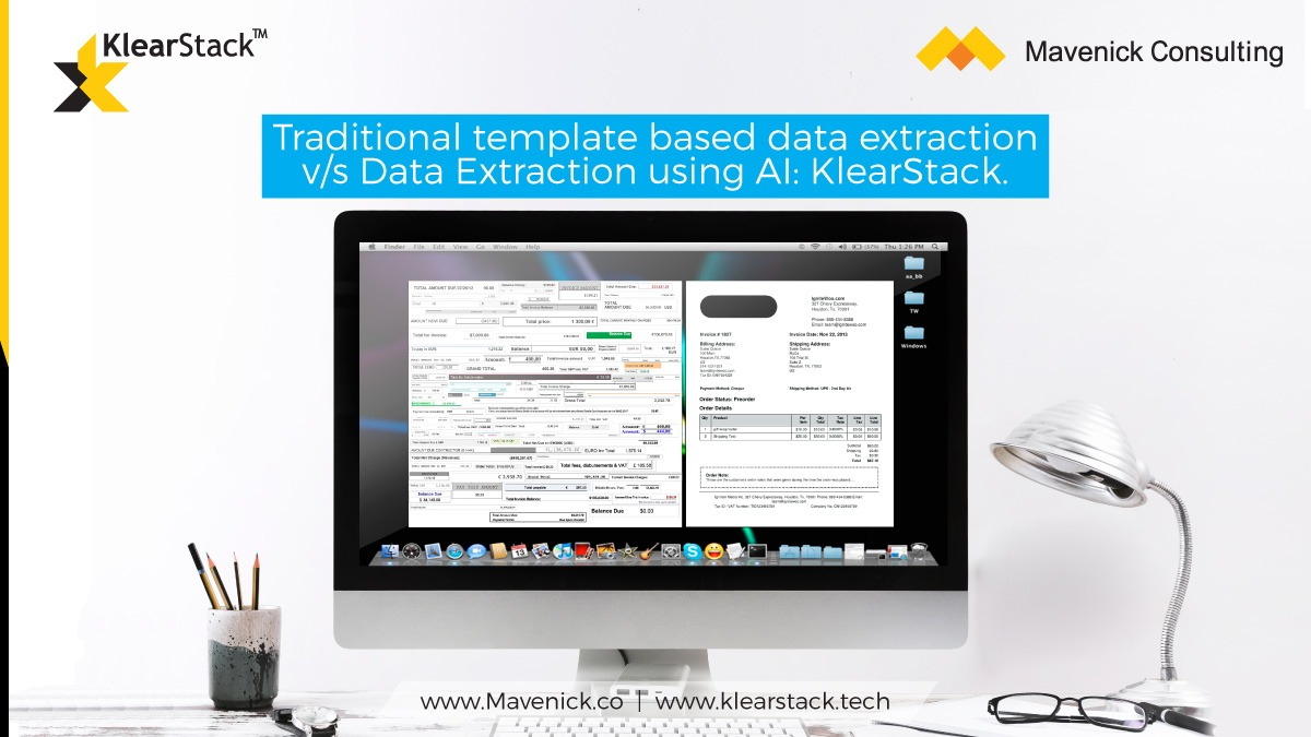 Data Extraction using AI Vs Traditional template based data