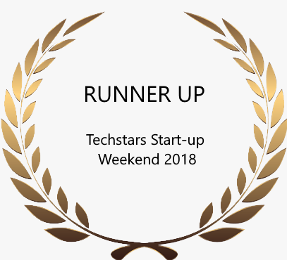 Runners Up at Startupweekend Pune 2018